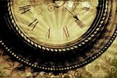 Vintage Clock Background — Foto Stock