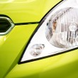 City Car Closeup - Stock Photo
