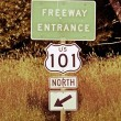 Stock Photo: Highway 101 North