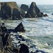 Rocky California Coast - Stock Photo