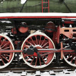 Steam Locomotive Wheels - Stock Photo