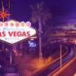 Streets of Vegas - Stock Photo