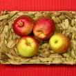 Fresh Garden Apples — Stock Photo