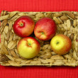 Stock Photo: Fresh Garden Apples
