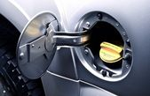 Car Gas Tank - Fueling — Stock Photo