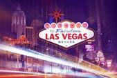 Las Vegas Lights — Stock Photo