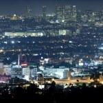Beverly Hills at Night — Stock Photo