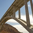 Stock Photo: Hoover Dam Bypass