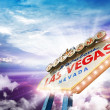 Welcome in Las Vegas — Stock Photo