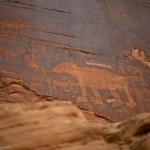 Native Americans Writings — Stock Photo