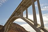 Hoover Dam Bypass — Stock Photo