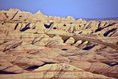 Eroded Sandstone in Badlands — Stock Photo