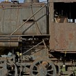 Stock Photo: Corroded Locomotive