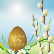 Easter Floral Theme — Stock Photo #27409405