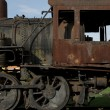 Stock Photo: Rusty Steam Locomotive