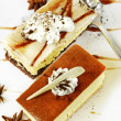 Cheesecake Slices — Stock Photo #27409747
