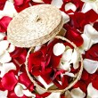 Flowers Petals Decoration — Stock Photo