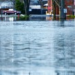 Deep Flood Water — Stock Photo