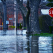Stock Photo: Flooded Street