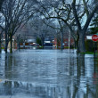 Stock Photo: Deep Flood Water