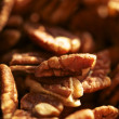 Stock Photo: Pecans Nuts