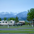 RV Park in Montana — Stock Photo #27410935