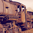 Stock Photo: Rusty Locomotives