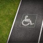 Handicap Parking Spot — Stock Photo #27411289