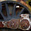 Old Locomotive Wheel — Stock Photo #27411303