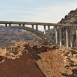 Stock Photo: Bypass Bridge Hoover Dam
