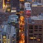 City Night Life Chicago — Stock Photo