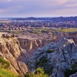 Eroded Badlands Scenery — Stock Photo #27411537