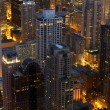 Stock Photo: Chicago at Night Scenery