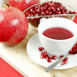 Fresh Pomegranate Tea — Stock Photo #27411771