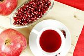 Pomegranate Tea — Stock Photo