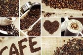 Coffee Mosaic — Stock Photo