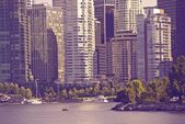 Vancouver in Ultraviolet — Stock Photo