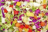 Chopped Vegetables — Stock Photo
