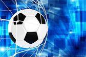 Mål fotboll illustration — Stockfoto