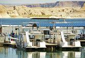 Lake Powell Boats — ストック写真