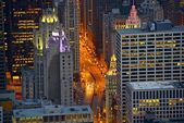 Michigan Avenue Chicago — Stock Photo