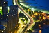 Lakeshore Dr Chicago — Stock Photo