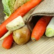 Stock Photo: Vegetables Closeup