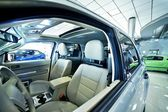 Cars Dealer Showroom — Stock Photo