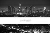 Los Angeles Black and White — Stock Photo