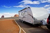 Recreational Vehicle RV — Stockfoto