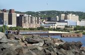 City of Duluth — Stock Photo