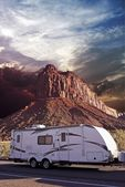 RV in Canyonlands — Stock Photo