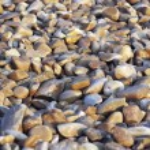 Beach Rocks Background — Stock Photo