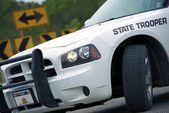 Police Cruiser State Trooper — Stock Photo